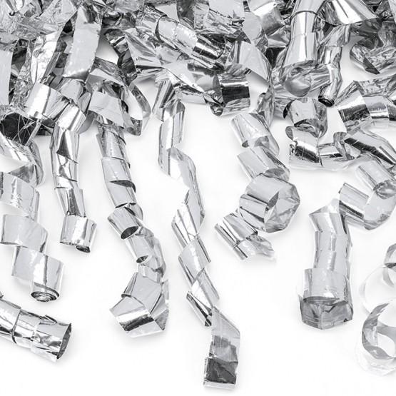 Top sa konfetama - srebrne tračice