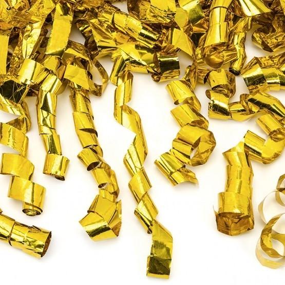 Top sa konfetama zlatne tračice - 60cm