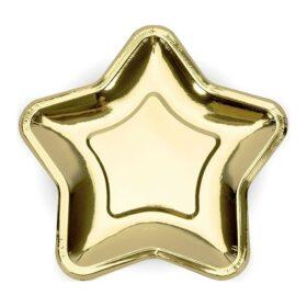 Tanjiri zlatna zvezda 23cm - 6 kom
