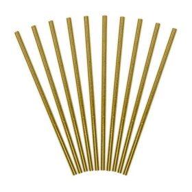 Slamčice zlatne - 10 kom