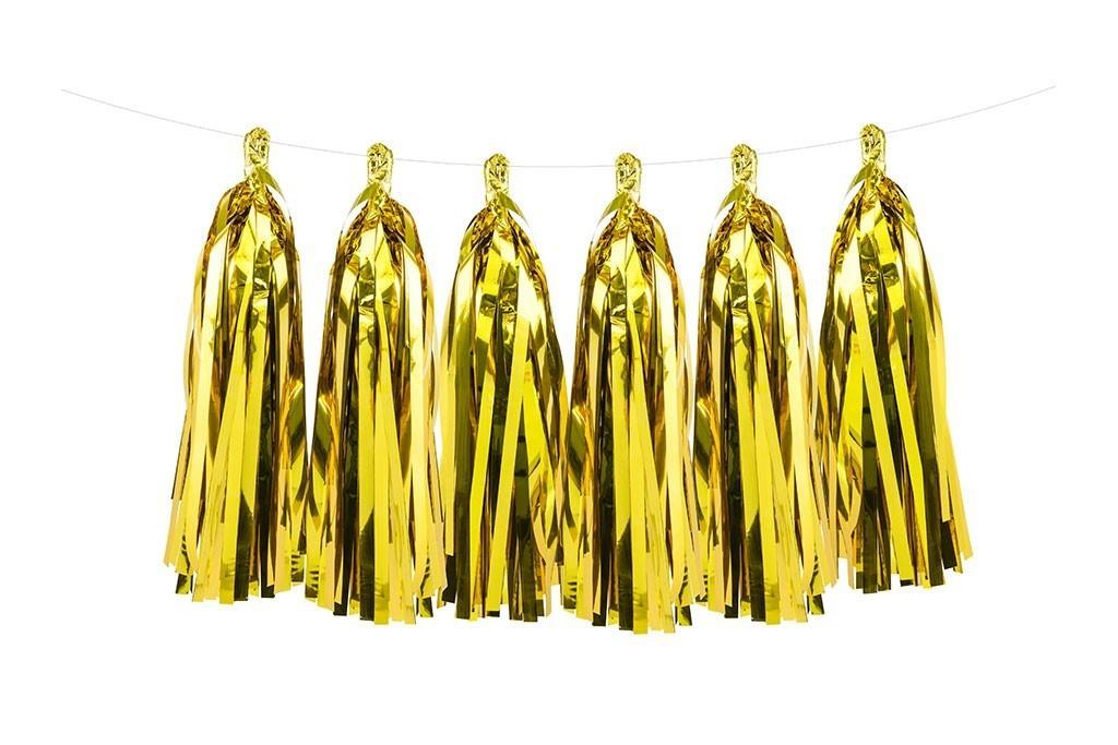 Girlande zlatne - 1.5m