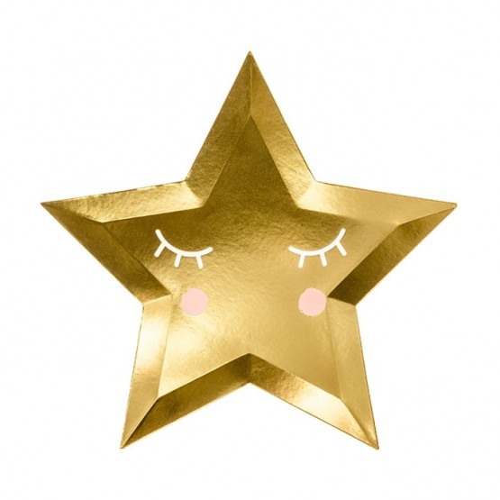 Tanjiri zvezda 27cm - 6 kom