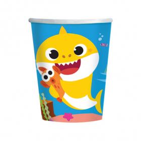 Čaše Baby Shark 250ml - 8kom