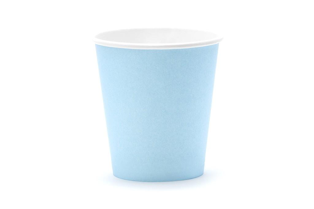 Čaše svetlo plave 180ml - 6 kom