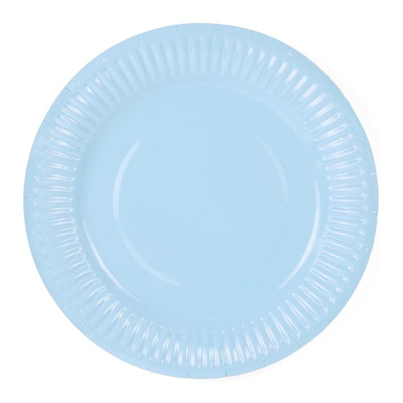 Tanjiri svetlo plavi 18cm – 6 kom