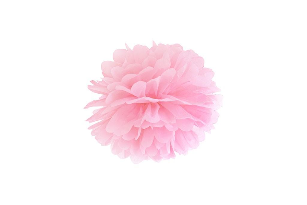 Pompom svetlo roze - 25cm