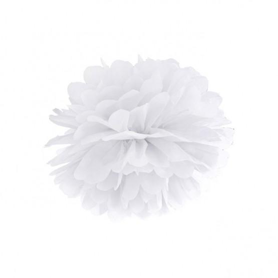 Pompom beli - 25cm