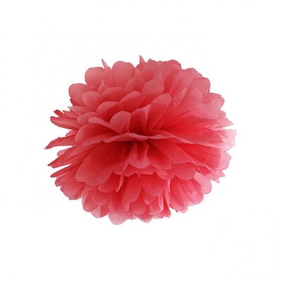 Pompom crveni - 25cm