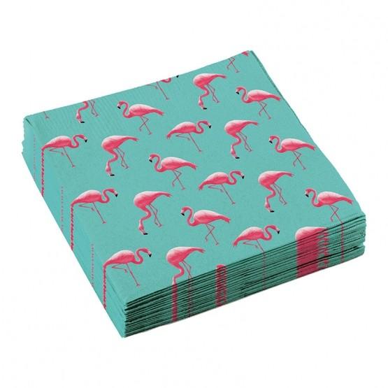 Salvete Flamingosi 33cm - 20 kom