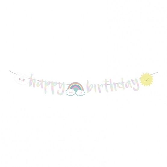 Baner Happy birthday - 180cm