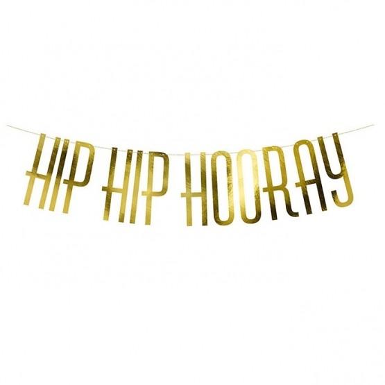 Baner Hip Hip Hooray - 120cm