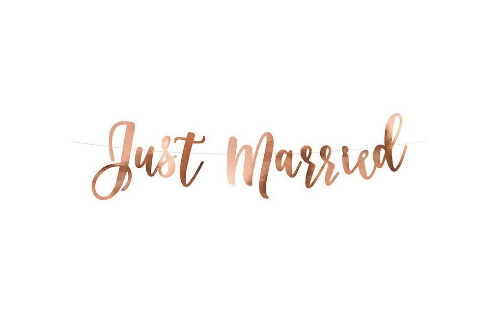 Baner Just Married - 77cm