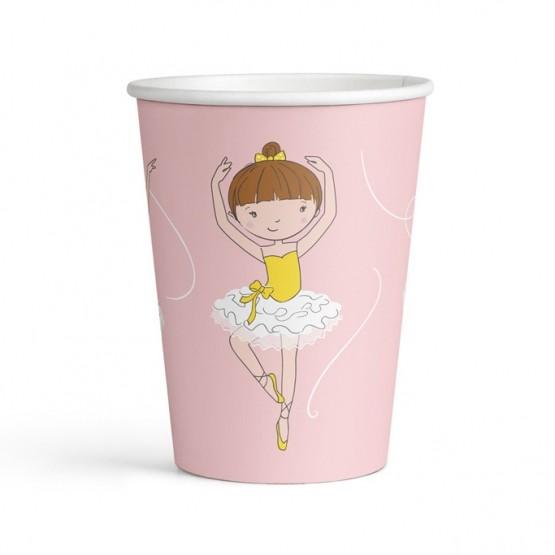Čaše balerina 250ml - 8 kom