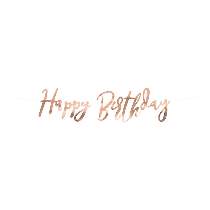 Baner Happy birthday - 62cm