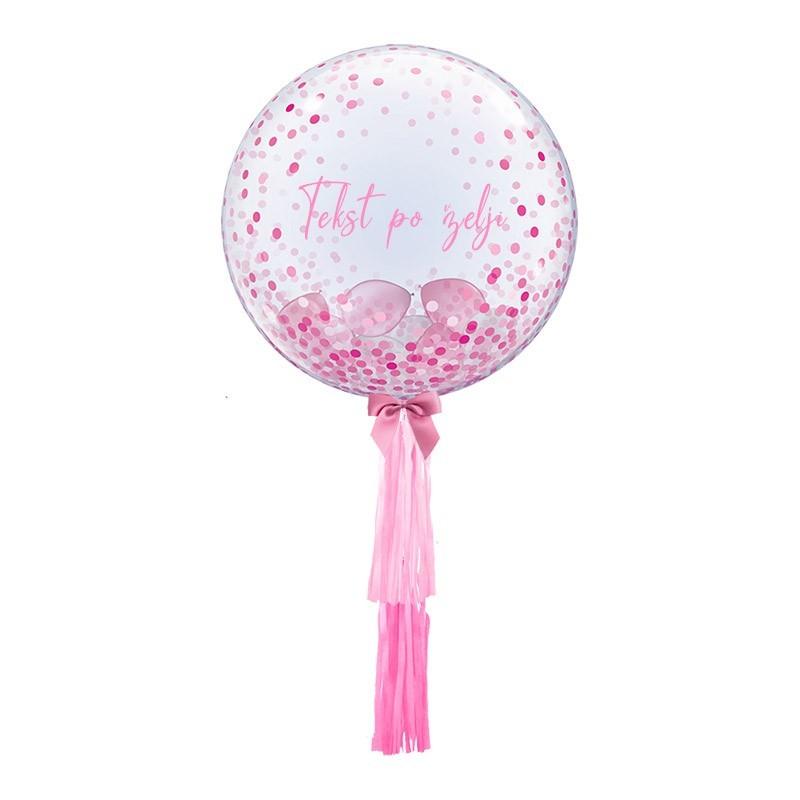 Bubble sa balonima i resama - 61cm