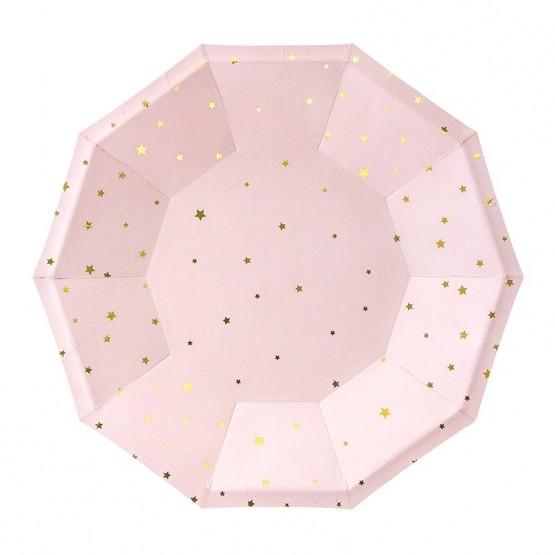 Tanjiri zlatne zvezdice 18cm - 6 kom
