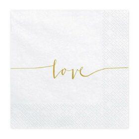 Salvete Love 33cm - 20 kom