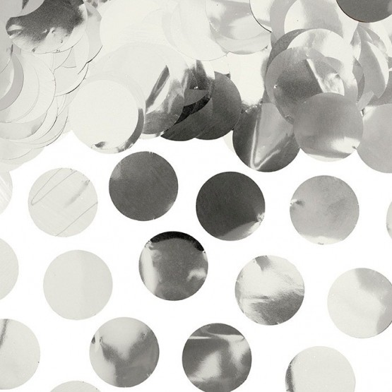 Konfete za balon - srebrne
