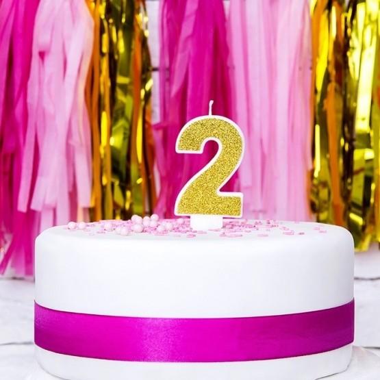 Rođendanska svećica - broj 2