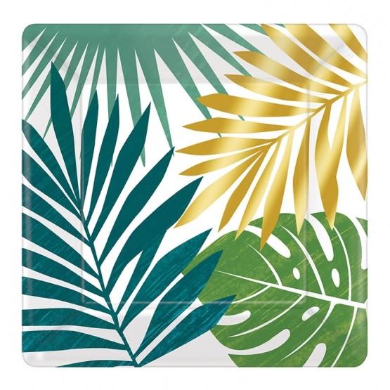 Tanjiri tropsko lišće 18cm - 8 kom