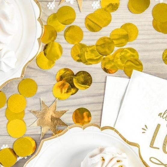 Konfete za balon - zlatne