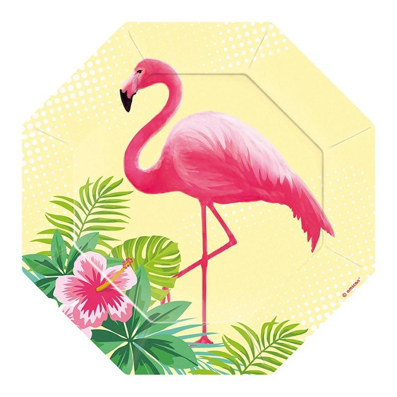 Tanjiri flamingo 18.5cm - 6 kom