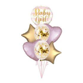Buket za rođenje devojčice 4