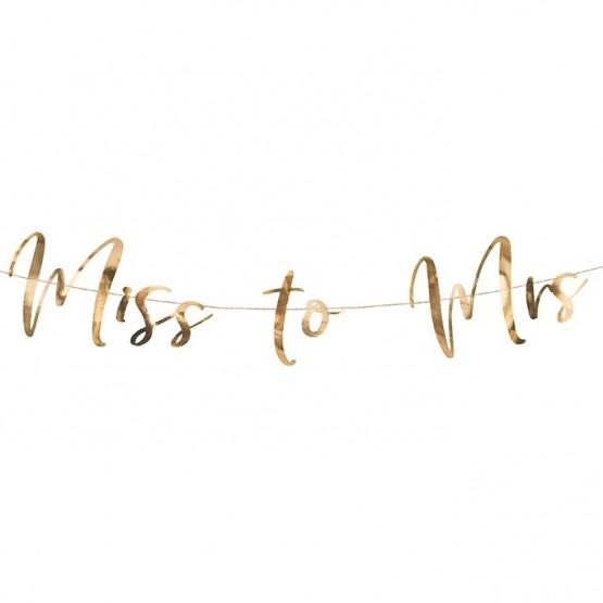 Baner Miss to Mrs - 76cm