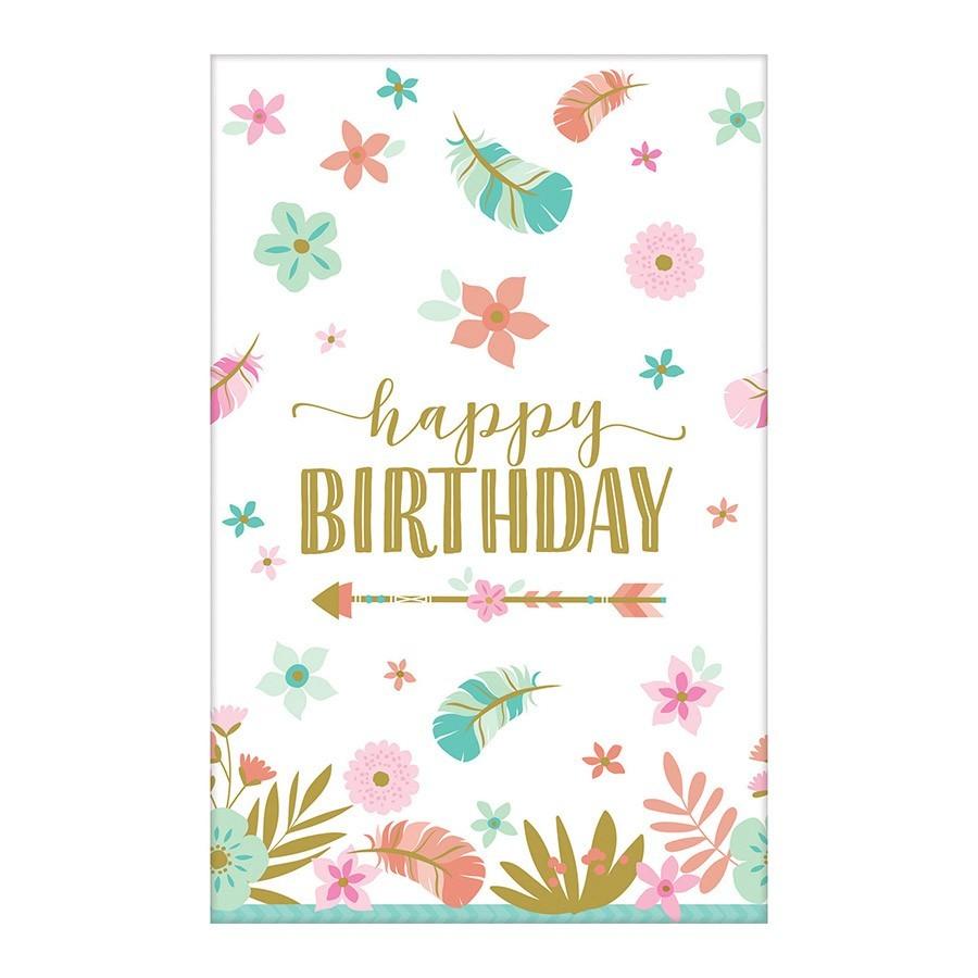 Stolnjak Happy Birthday