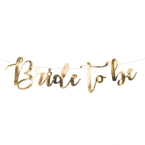 Baner Bride to be - 80cm