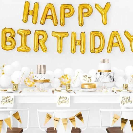 Salvete Happy Birthday 33cm - 20 kom