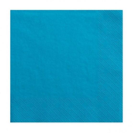Salvete plave 33cm - 20 kom