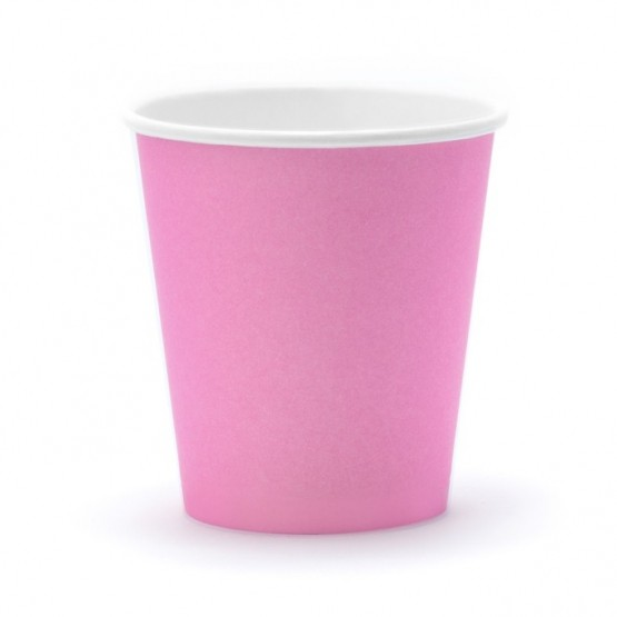 Čaše roze 180ml - 6 kom