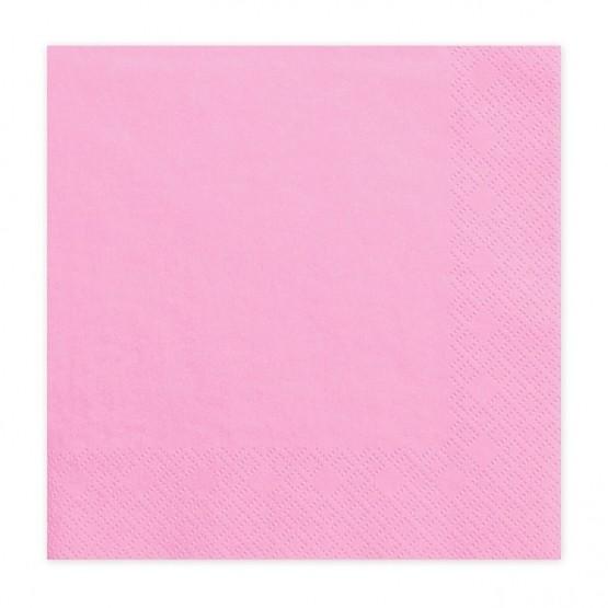 Salvete tamno roze 33cm - 20 kom
