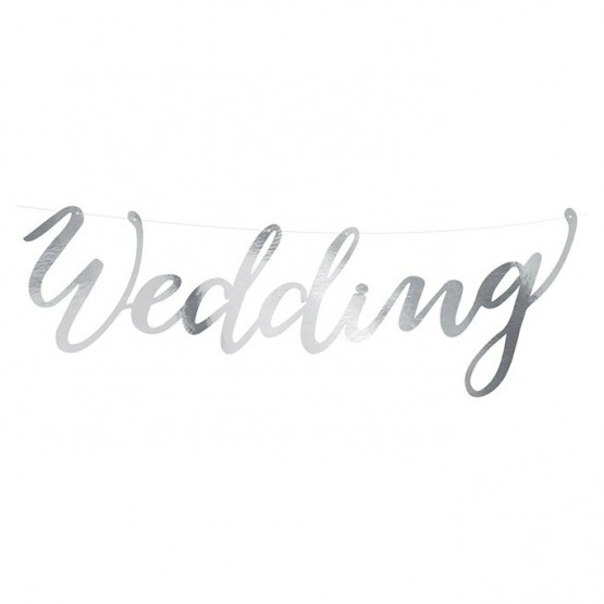 Baner Wedding - 45cm