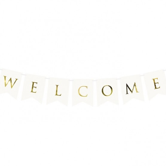 Baner Welcome - 95cm