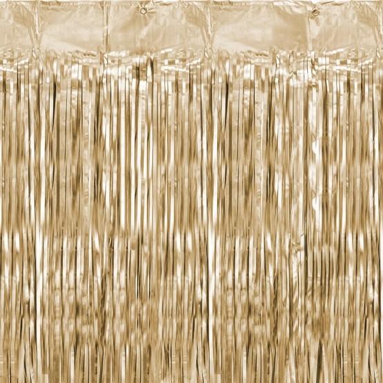 Zlatna zavesa - 250cm
