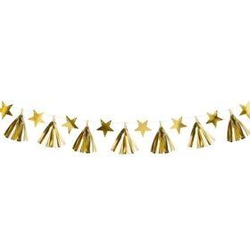 Baner zlatne zvezde i rese - 1.3m