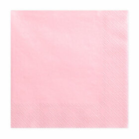 Salvete Puder roze 33cm - 20 kom