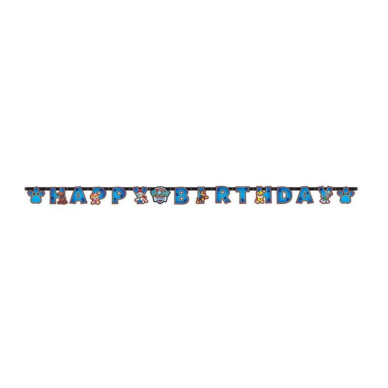 Baner Happy Birthday - 180cm