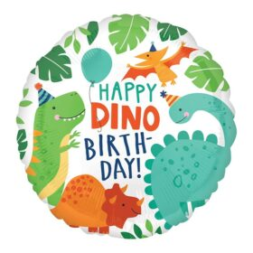 Happy dino birthday - 46cm