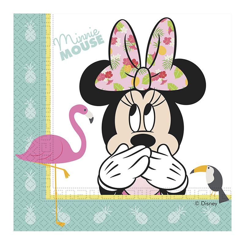 Salvete Minnie Mouse 33cm - 8 kom