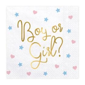 Salvete Boy or girl 33cm - 20 kom