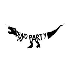 Baner Dino party - 90cm