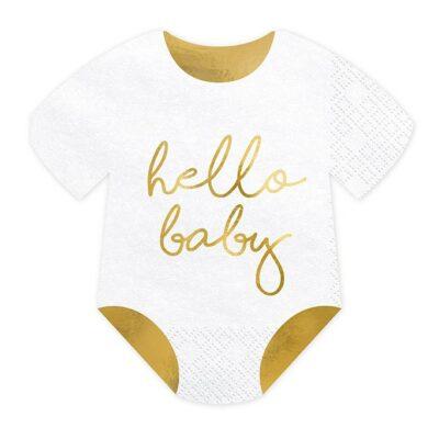 Salvete Hello baby 16cm - 20 kom