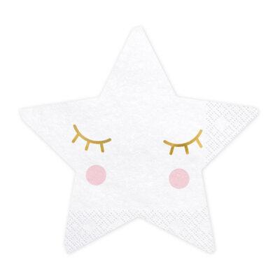 Salvete Zvezde sa licem 16cm - 20 kom