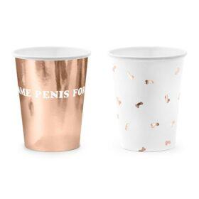 Čaše za devojačko veče 220ml - 6 kom