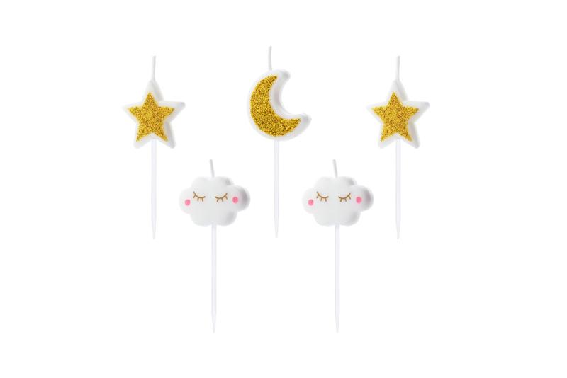 Svećice Little star - 5 kom