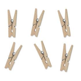 Drvene štipaljke 3cm - 20 kom