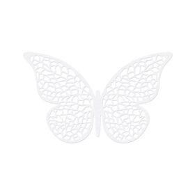 Papirna dekoracija leptir 6.5cm - 10 kom